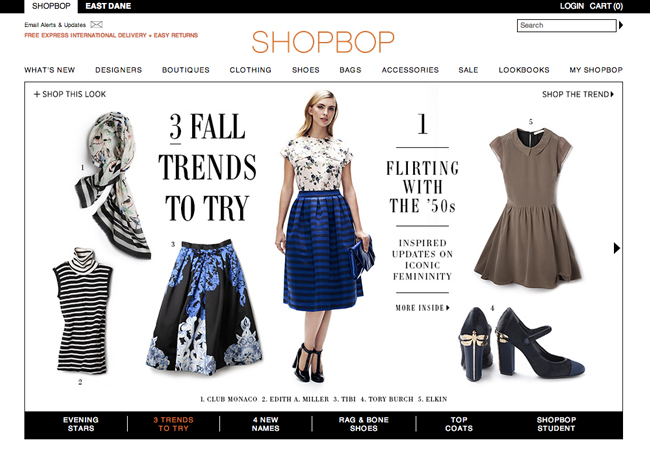 Best Fashion Shopping Websites